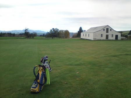 Mount Nessing Golf Club 2nd Hole Woolshed
