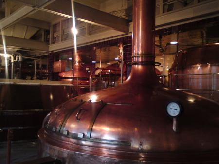 Speights Brewery copper kettles Dunedin New Zealand