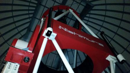 Mt John Observatory new Nishimura telescope Tekapo Canterbury New Zealand