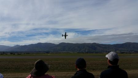 The sound and sights of the P51 Mustang Warbirds over Wanaka 2016