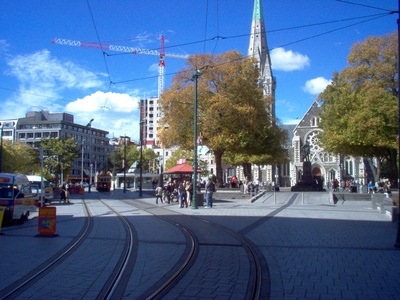 Cathedral Square tram stop