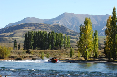 Clutha River Jet Boat on the Clutha River Wanaka