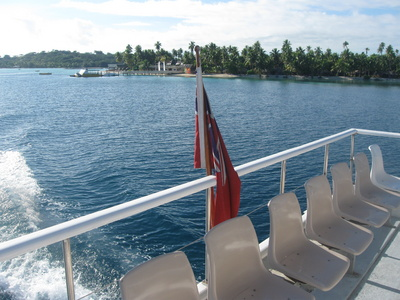 Ferry to Plantation Island, Fiji